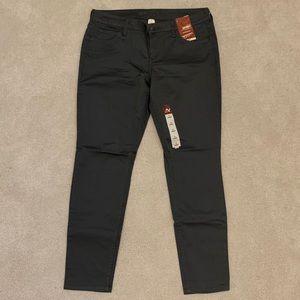 NWT Arizona Jean Company Gray Skinny Jeans